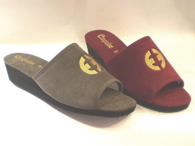 pantoufles femme exquise la romanaise saint etienne chaussures la romanaise. Black Bedroom Furniture Sets. Home Design Ideas